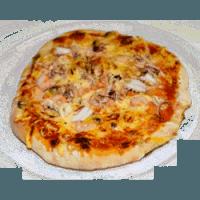 16 Tomaten, Käse, Meeresfrüchte